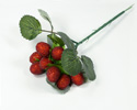 Enlarge - Artificial Raspberry branch, 02181478